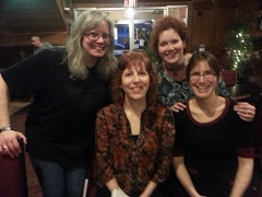 Me and Kim with Paulette and Louise