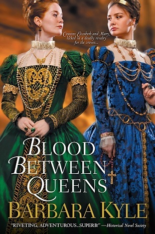 Blood Between Queens by Barbara Kyle