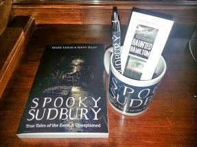 My Spooky Sudbury swag