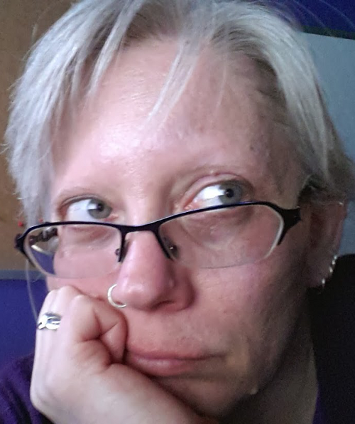 Feeling old, with the grey hair, wrinkles, and dark circles to prove it :P