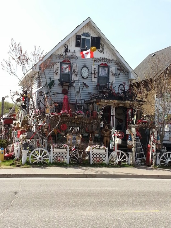 Crazy collectible house