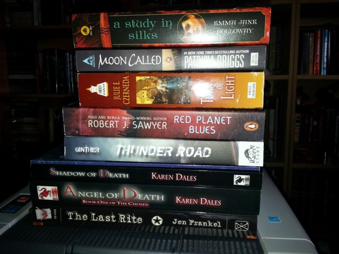 The book haul