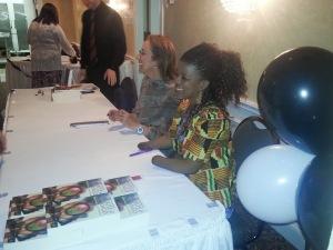 Mariatu Kamara and Susan McClelland