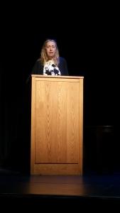 Madeleine Callway reading